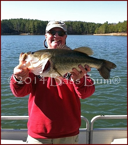 Mont Eagle Mountain Largemouth Hawg
