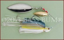 Spinnerbait, Sexy Shad, Two Willow Blades