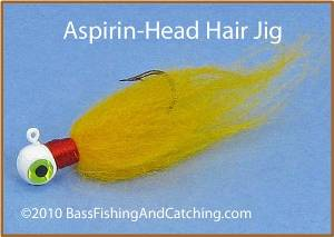 Aspirin-Head Hair Jig