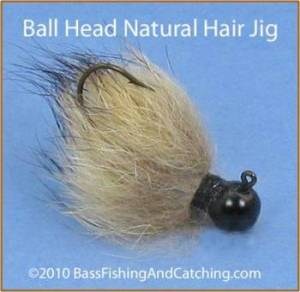 Bass Jig, Rabbit Hair