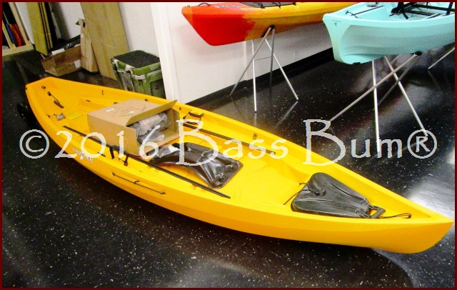 Nucanoe Kayak at Dealer