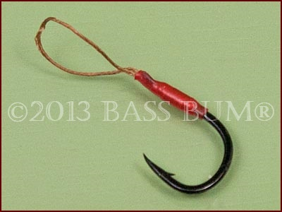 Stinger Hook with Soft Loop Material