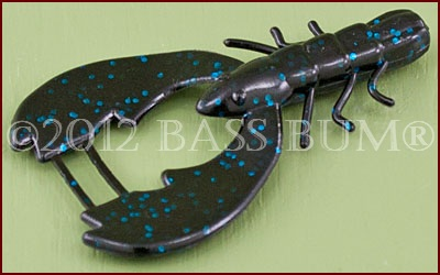 Berkley Chigger Craw Black Blue Fleck