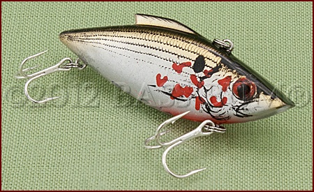 Lipless Crankbait Rat-L-Trap White Bleeding Shad