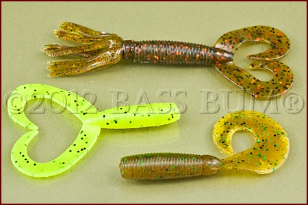 Bass Fishing Techniques - Fishing Grubs