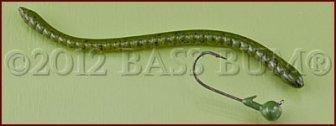 Bass Fishing Techniques - Shakyhead Worm