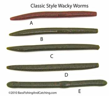 Assorted Cigar Shaped Wacky Worms