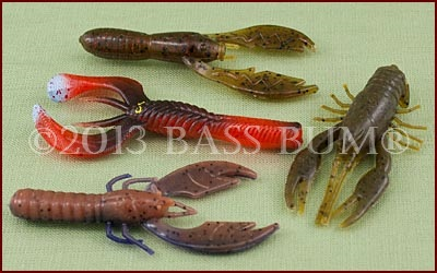 Pond Lures - Assorted Plastic Frogs