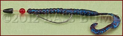 Bass Fishing Techniques - Plastic Worm