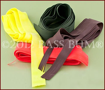 Living Rubber Jig Skirt Material