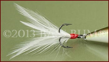 Feather Dressed Rear Treble Hook