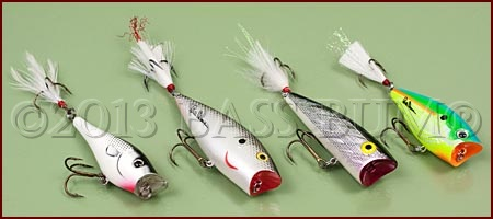 Bass Poppers Assorted Styles