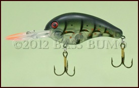 Crankbait - Strike King Silent Stalker - Green Ghost