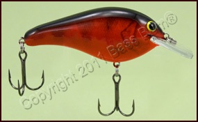 Bandit 100 Crankbait Chrome Red Craw