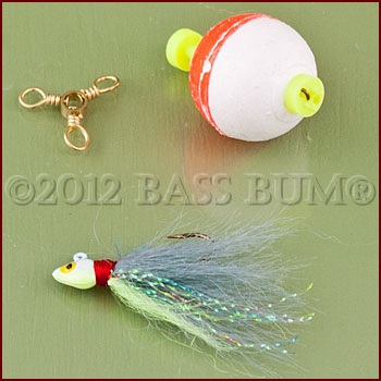 Bass Fishing Techniques - Float and Fly