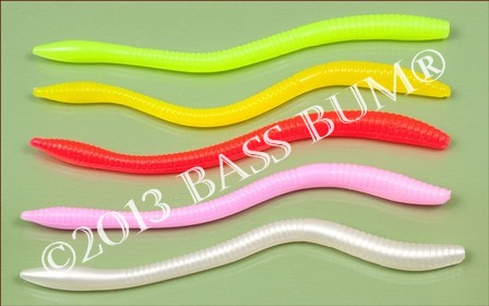 Traditional Bright Colors for Floating Worms