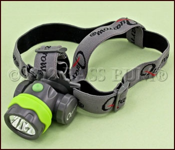 Headlamp for Night Bass Fishing