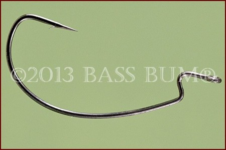 Fish Hook - Worm Offset Shank EWG