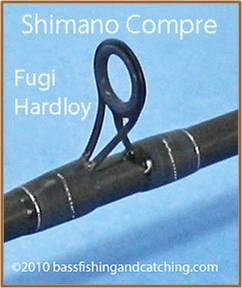 Fugi Hardloy Guide - Shimano Compre Rod