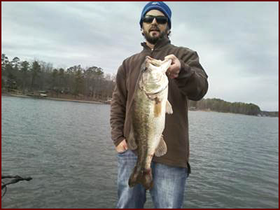 Largemouth Bass 7lb 10oz