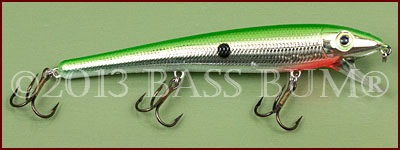 Wild Shiner - Strike King - Green Chrome