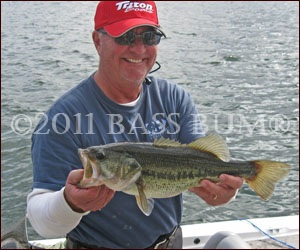 Mitch's Largemouth Bass Grin Says it All