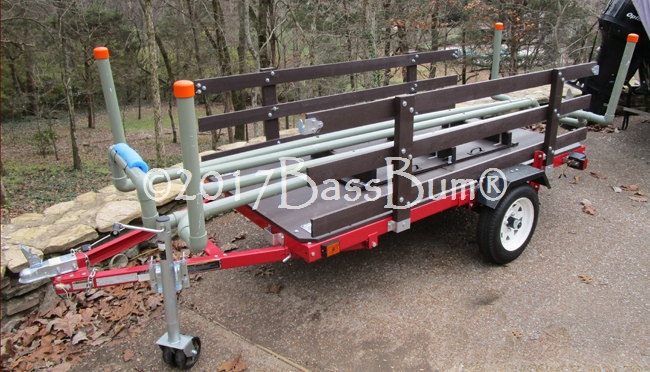 Utility Trailer to Kayak trailer