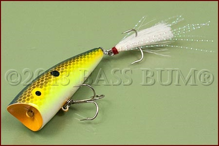 Pond Bass Fishing Lures - Top Water Plugs and Balsa Wood