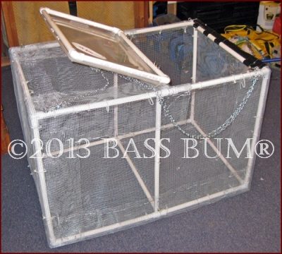 Minnow Cage - PVC Homemade