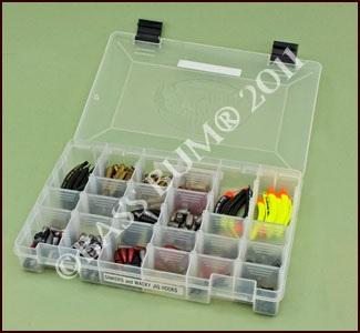 Tackle storage boxes fishing lure box utility storage box for Fishing tackle storage