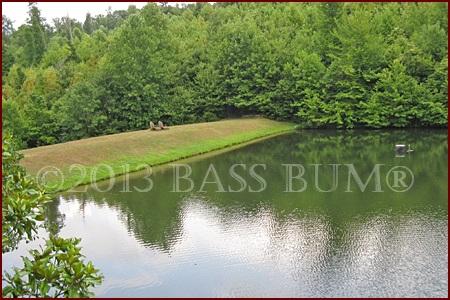 Typical Small Bass Lake Dam