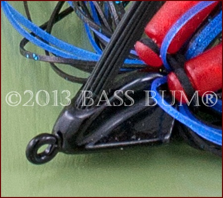 Swim Jig - BooYah _ Black/Blue