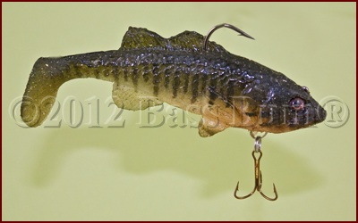 Matt Lures Solid Body Soft Swimbait - Baby Bass