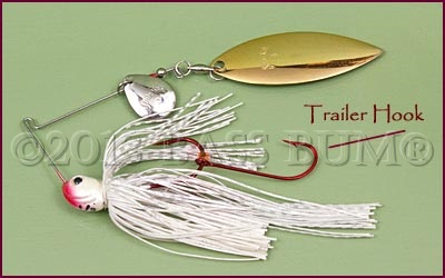 Trailer Hook on Spinnerbait