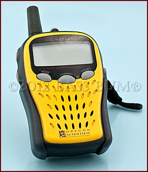 Weather Alert Device- Hand Held