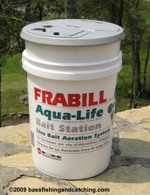 Minnow Bucket Tower - Aerated