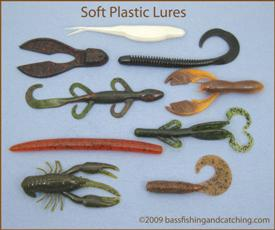 Soft plastic bass lures for How to fish with plastic worms