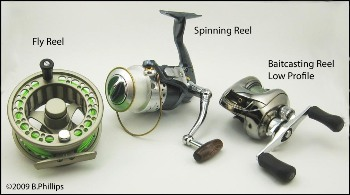 Types Of Fishing Reels For Bass Fishing