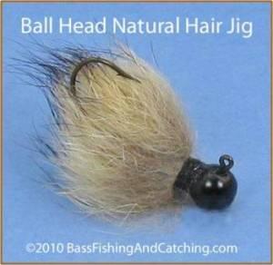 Bass Jig, Rabbit Hair