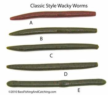 Wacky worm fishing has no limits for fishing plastic worms for Bass fishing with plastic worms