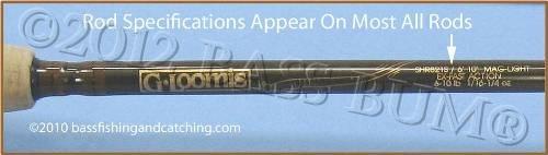 Bass Fishing Rods, Spinnerbait Rods, Swimbait Rod
