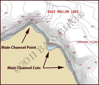 Lake Map - Channel Point Cove
