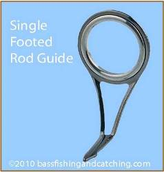 Single Footed Rod Guide