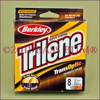 Berkley Trilene TransOptic Monofilament