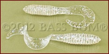 Clear Plastic Grubs Are Smallmouth Catchers!