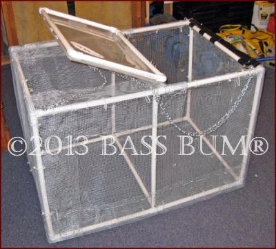 Minnow Cage - PVC Homemade