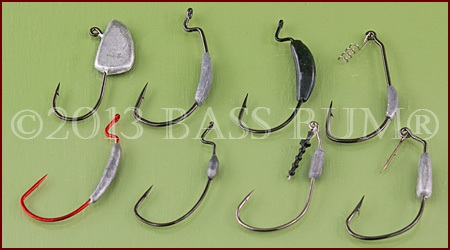 Swimbait Hooks - Assorted Styles