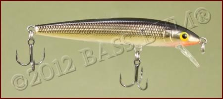 Minnow Lure - Husky Jerk - Gold