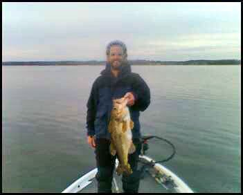 Looks Like Mike Knows How to Catch Bass In Cold Water