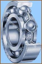 Radial ball Bearing - Cut Away View